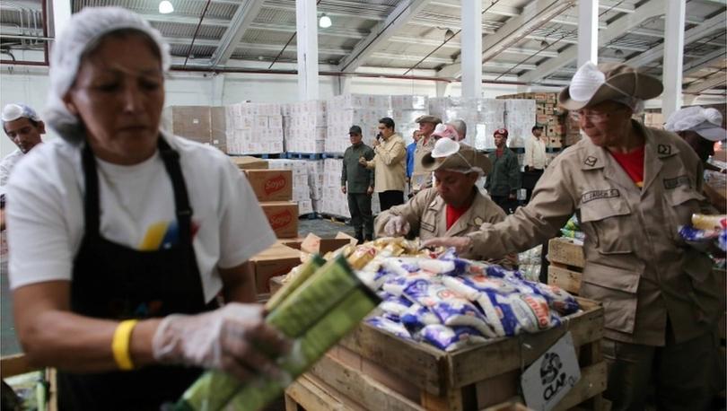 ABD, Maduro'nun torunlarını Venezuela gıda yardım programında yolsuzluk yapmakla suçladı
