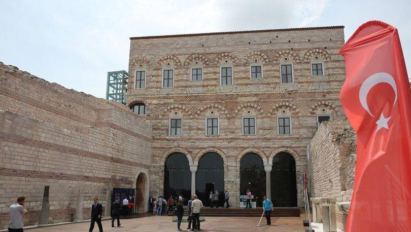 Tekfur Sarayı Müzesi'ne büyük ilgi