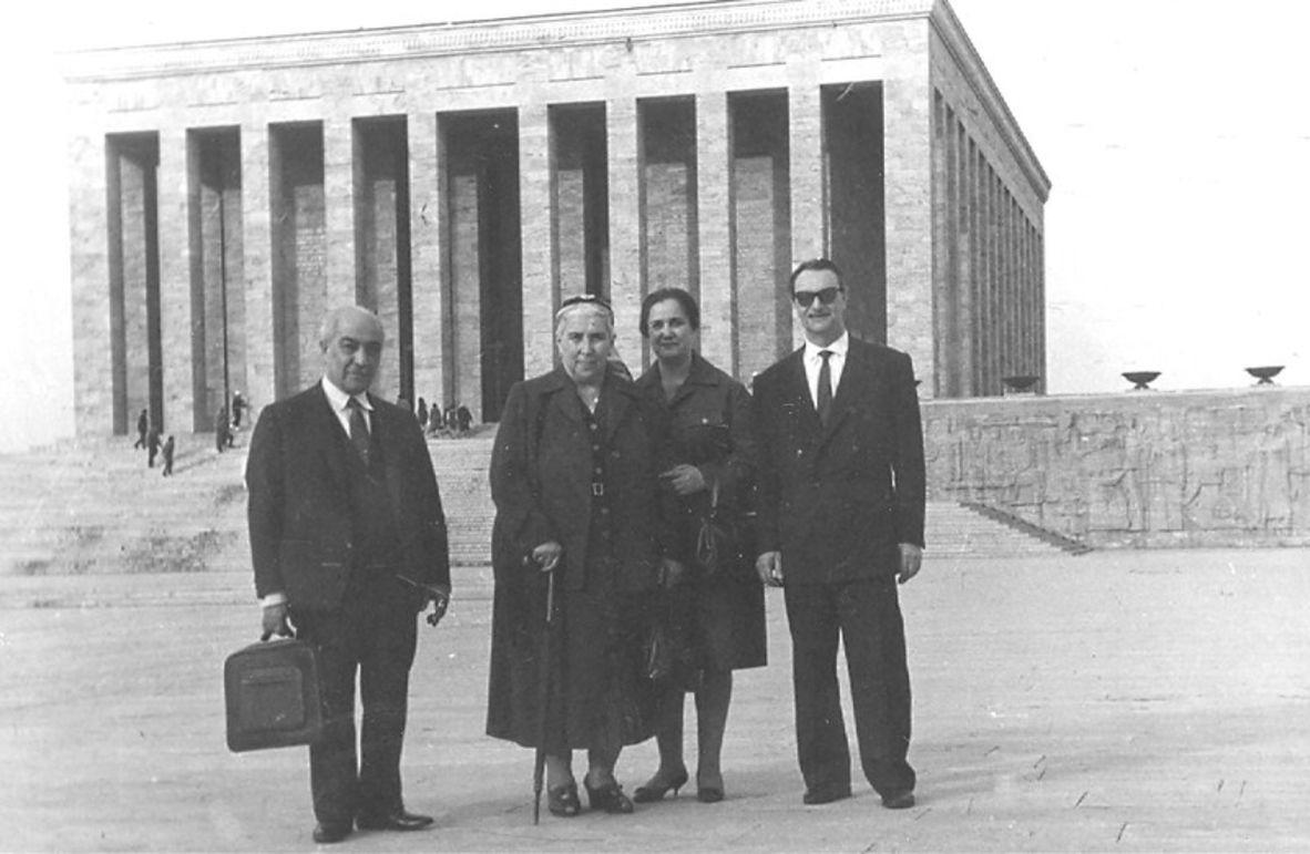 Melek Nimet Özden, vefatından kısa bir süre önce Anıtkabir'i ziyaret etti.