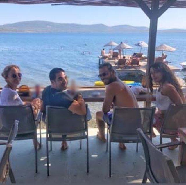 Erkan Kolçak Köstendil ile eşi Cansu Tosun karavan tatilinde - Magazin haberleri Instagram