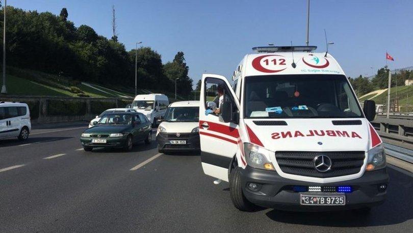 Eyüpsultan D-100 Karayolu'nda zincirleme trafik kazası