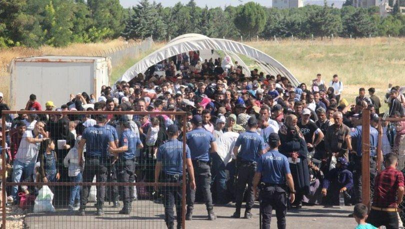 8 bin Suriyeli bayram için ülkesine gitti
