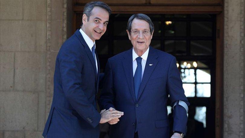 Miçotakis ilk yurt dışı ziyaretini Güney Kıbrıs'a gerçekleştirdi