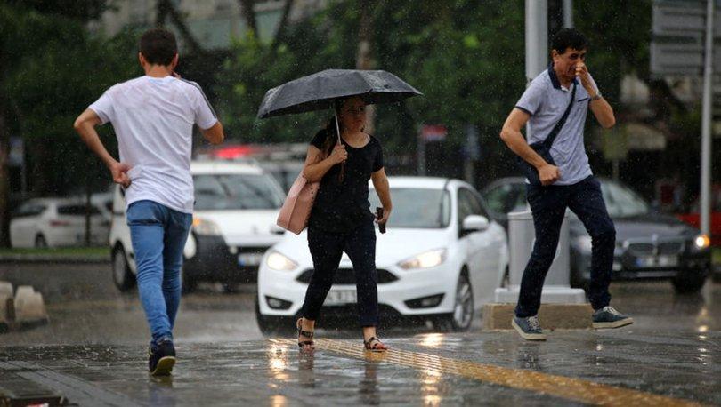 GELİYOR! Meteoroloji'den son dakika sağanak uyarısı - HABERLER