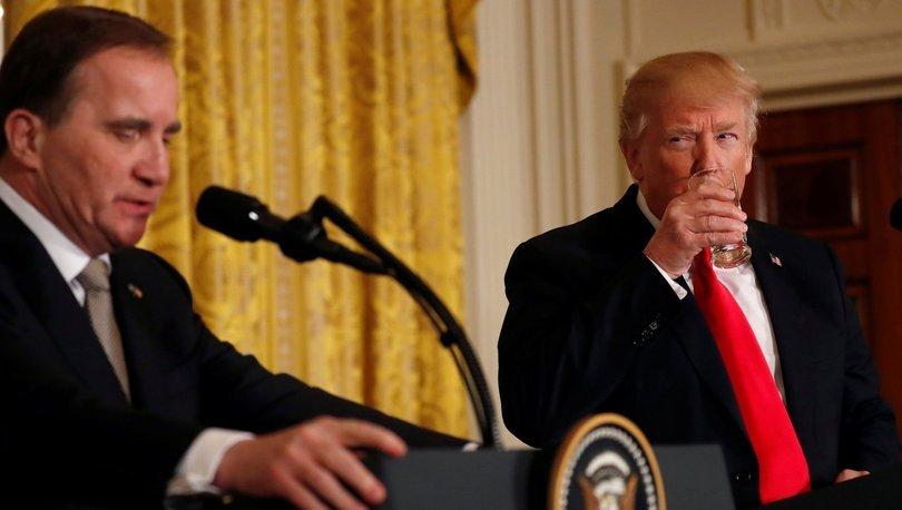 SON DAKİKA! İsveç Başbakanı Trump'a