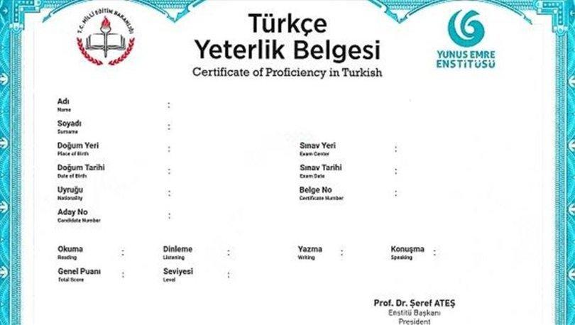 Türkçe Yeterlik Sınavı