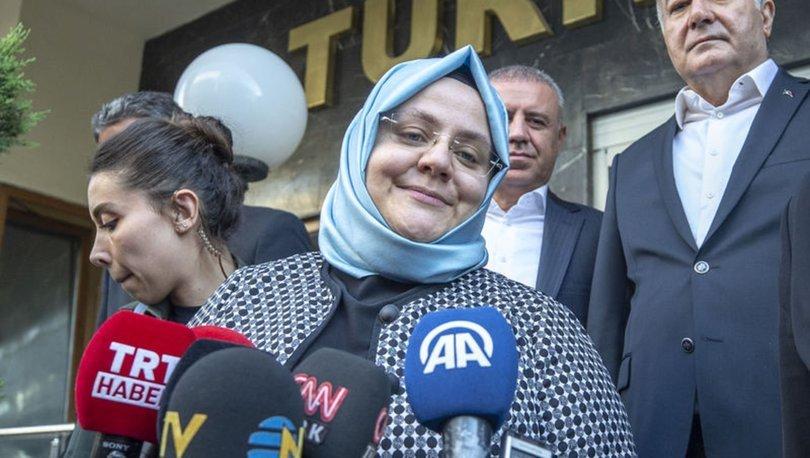 Aile, Çalışma ve Sosyal Hizmetler Bakanı Zehra Zümrüt Selçuk'tan Türk-İş'e ziyaret