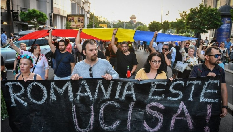 Romanya'da kız çocuğunun kaçırılıp öldürülmesi sonrası polis hemen harekete geçmedi, İçişleri Bakanı istifa etti