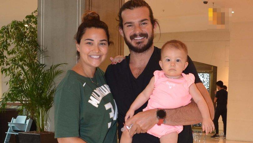 Hakan Hatipoğlu eşi Gizem Hatipoğlu ve kızı Lila ile alışverişte - Magazin haberleri