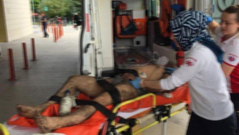 Bursa'da atık tankına düşen 3 işçi yaralandı