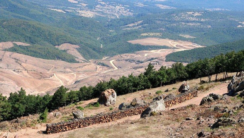 Kaz Dağları'nda altın madeni tartışması
