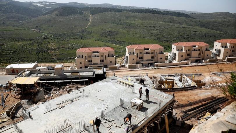 İsrail Batı Şeria'da Yahudiler için 6 bin, Filistinliler için 700 konut inşasına onay verdi