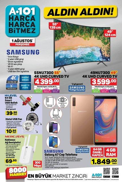 A101 1 Ağustos Aktüel ürünleri bugün satışta! A101 bu hafta hangi ürünler indirimli olacak? İşte tam liste
