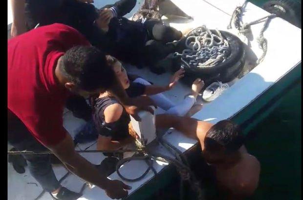 Eğlence olsun diye yaptıkları öldürüyordu! Kadıköy sahilinde olay...