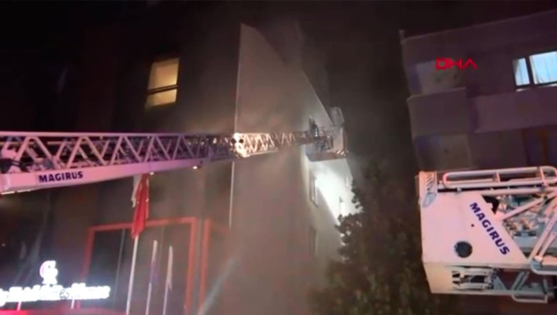 Ankara otel yangın son dakika