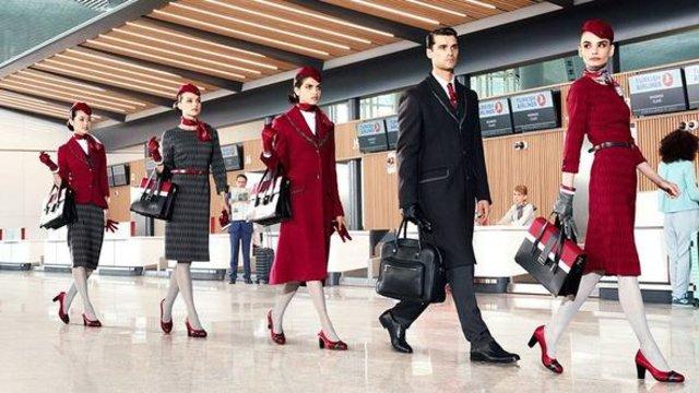 İşte havayolu şirketlerinin kabin ekibi kıyafetleri