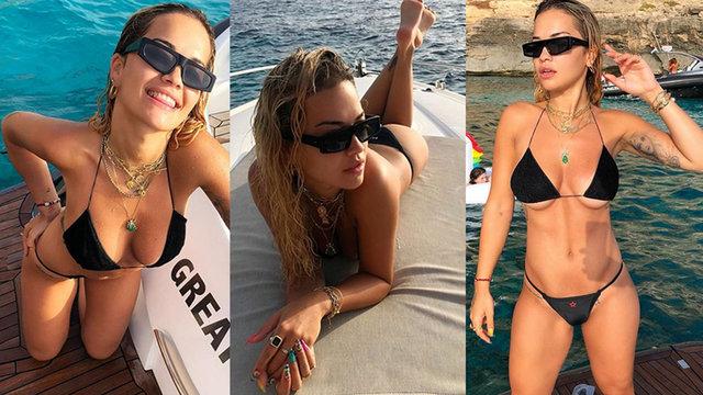 Rita Ora, Ibiza'da - Magazin haberleri
