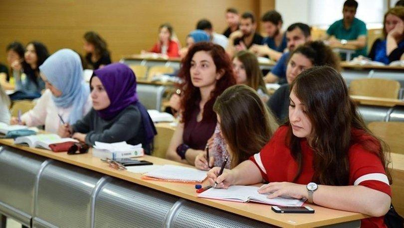 Üniversite kayıt tarihleri