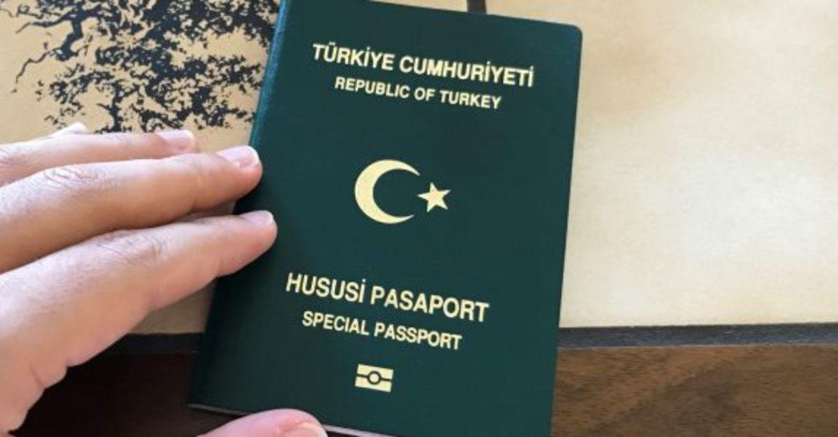 Hususi (Yeşil) Pasaport nedir? Hususi Pasaport kimlere verilir?
