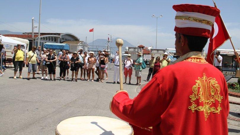 Lübnanlı turistler Alanya