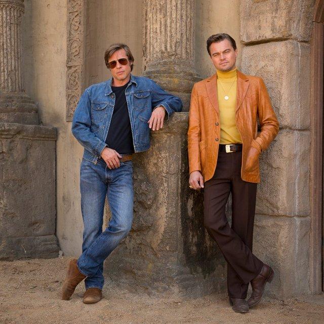 DiCaprio ile Pitt Kadıköy'de