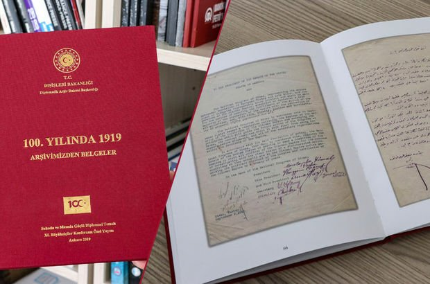 Dışişleri, Milli Mücadele belgelerini ilk kez yayınladı