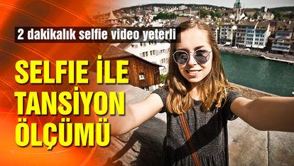 Selfie ile tansiyon ölçümü
