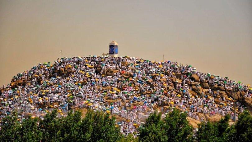 Hacı adayları Arafat'ta ile ilgili görsel sonucu
