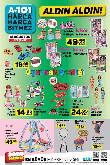 A101 15 Ağustos 2019 aktüel ürünleri açıklandı! A101'de bu hafta hangi ürünler satılacak?