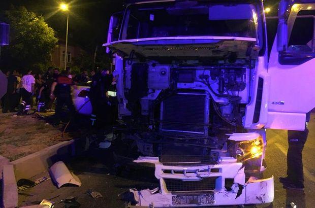 Burdur'da feci kaza! 1 ölü, 3 yaralı