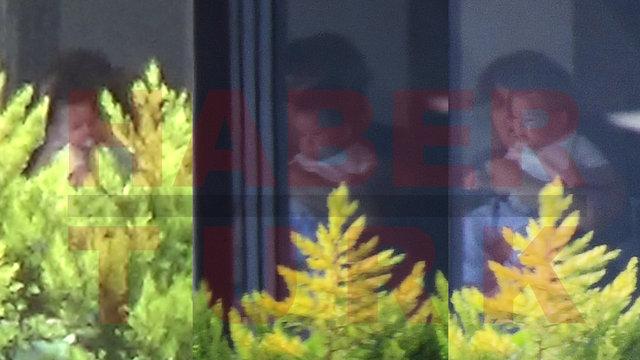 Fahriye Evcen-Burak Özçivit çifti çocukları Karan ile görüntülendi - Son Magazin haberleri