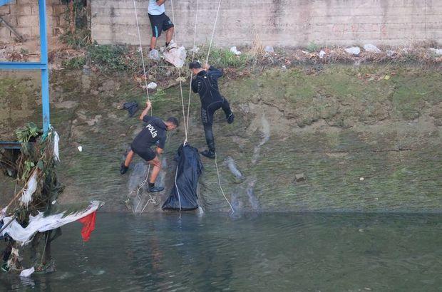 Adana'da sulama kanalına giren genç boğuldu