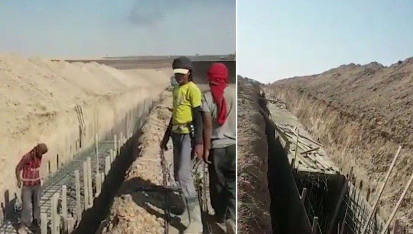 terör örgütü PKK tünel kazıyor