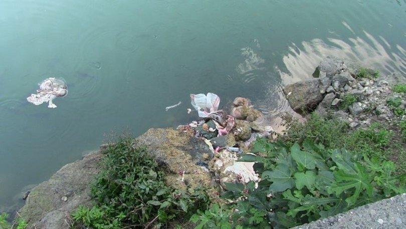 baraj gölüne kurban atıkları