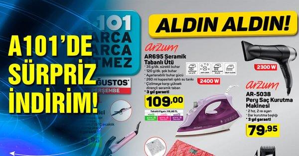 A101 15 Ağustos 2019 aktüel ürünleri