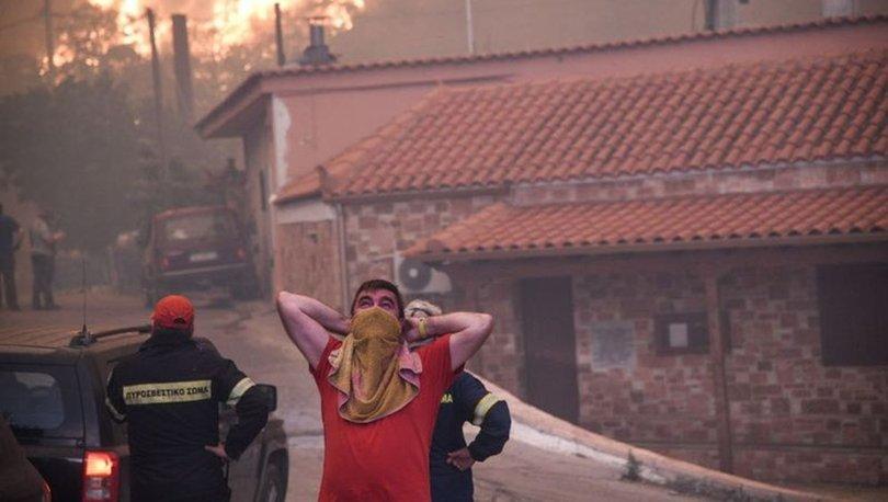 yunanistan yangın son dakika