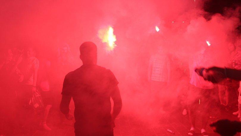 Taksim'de Süper Kupa coşkusu! - UEFA SÜPER KUPA