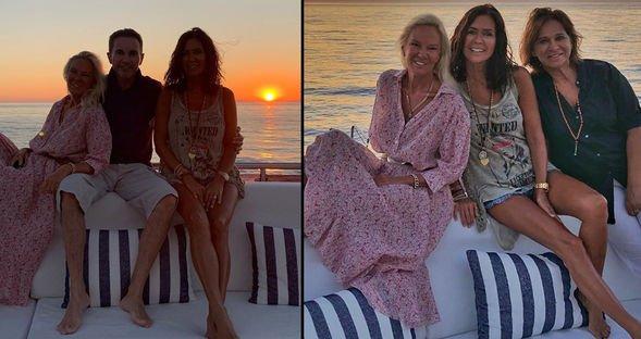 Yunan Adaları'nda günbatımı...