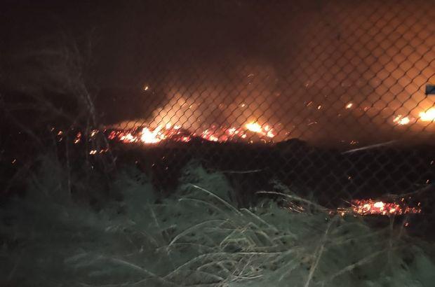 Sınırda YPG provokasyonu! Hendekleri ateşe verdiler