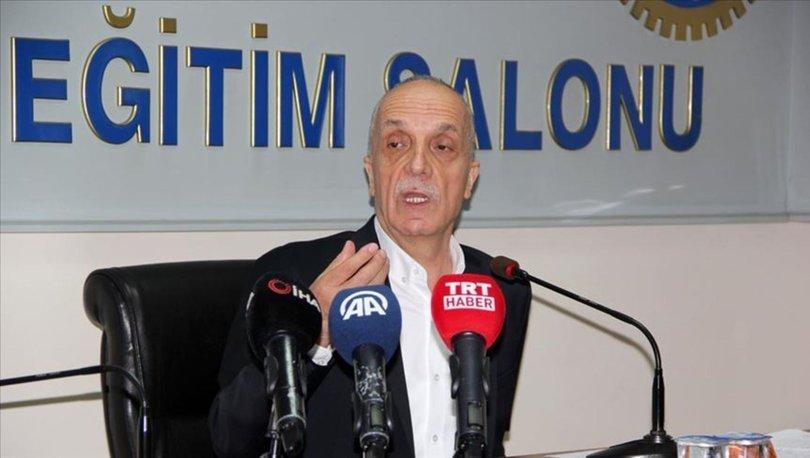 Türk-İş Genel Başkanı Atalay
