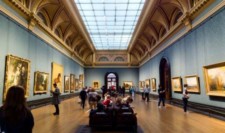 Londra National Gallery Sackler bölümü..
