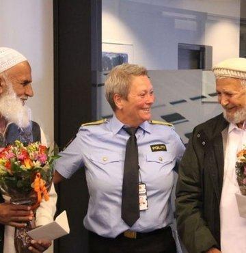 Norveç'te camisi saldırısını önleyenler kahraman oldu
