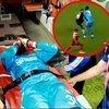 Sivasspor kalecisi hastaneye kaldırıldı