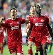Sivasspor - Besiktas maçinin dakika dakika özeti HTSPOR