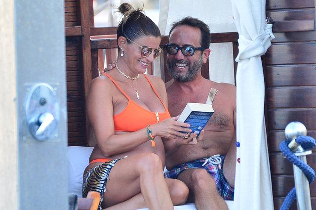 Ece Vahapoğlu Alpay eşi Cihan Alpay ile Bodrum'da tatil yapıyor - Magazin haberleri