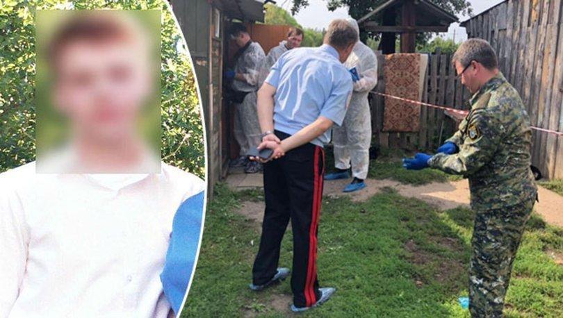 Rusya'da 16 yaşındaki çocuk ailesini balta ile öldürdü