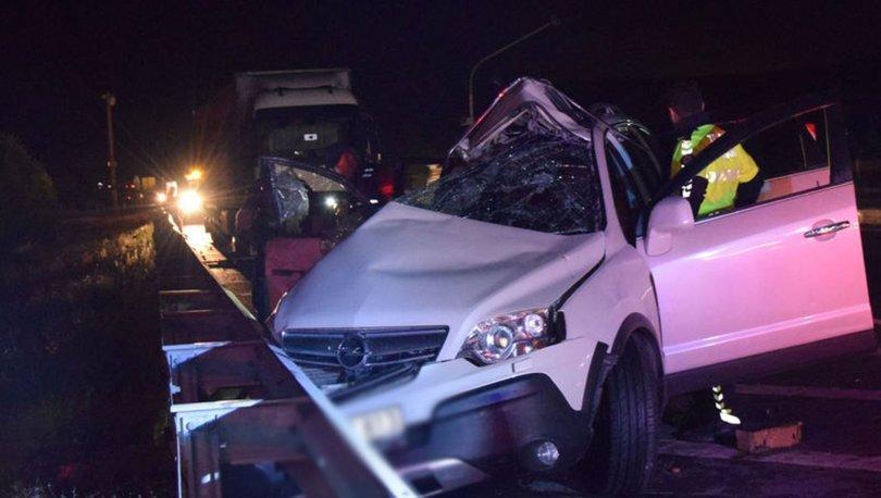 Son dakika... Konya'da feci kaza! Anne-oğul öldü, baba ağır yaralı! - Haberler