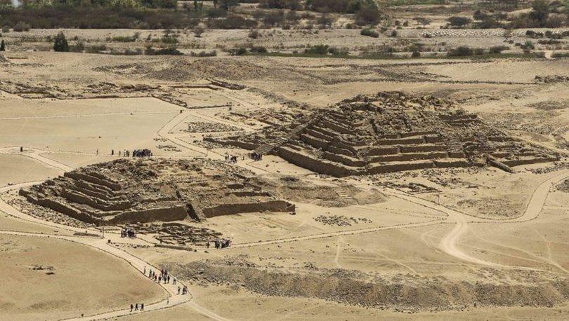 Peru'da 3800 yıllık duvar resmi ortaya çıktı