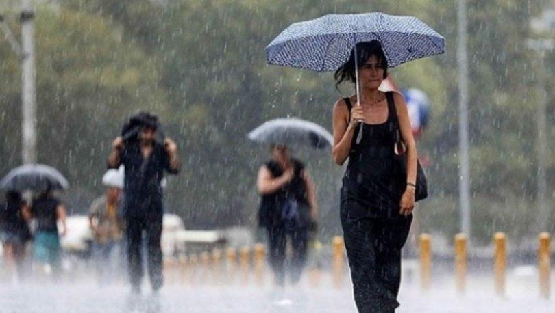 Meteoroloji'den son dakika sağanak yağış uyarısı! İstanbul hava durumu 5 günlük!
