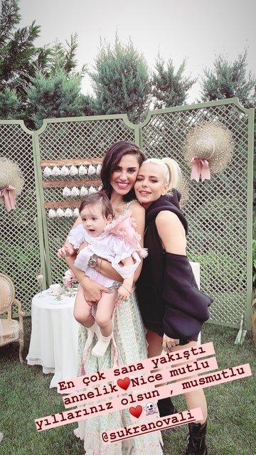 Şükran Ovalı-Caner Erkin çiftinin kızları Mihran Ela 1 yaşında - Instagram Magazin haberleri